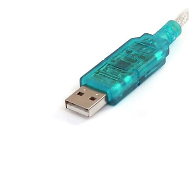 StarTech.com 3ft USB to RS232 DB9 Serial Adapter Cable, M/M