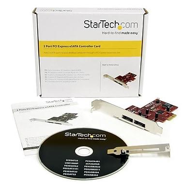 Star Tech – Carte adaptateur contrôleur 2 ports PCI Express eSATA