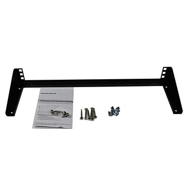 StarTech.com 1U 19in Steel Vertical Wall Mount Equipment Rack Bracket