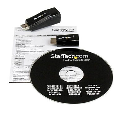 StarTech.com Samsung® XE303 Chromebook™ VGA and Ethernet Adapter Kit, HDMI to VGA, USB 2.0 to Ethernet