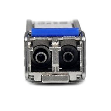 StarTech – Module émetteur-récepteur SFP mini-GBIC Gigabit à fibre optique monomode LC, compatible avec Cisco, 10 km