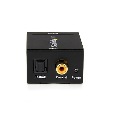 StarTech.com SPDIF Digital Coaxial or Toslink Optical to Stereo RCA Audio Converter
