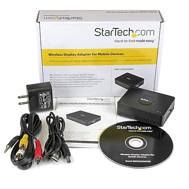 StarTech.com Wireless Display Adapter with Miracast / WiDi for Mobile Devices, HDMI® Wireless Receiver