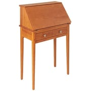 Manchester Wood Shaker Secretary Desk; Golden Oak