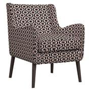 Handy Living Lilian Arm Chair; Black