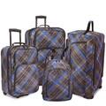 U.S. Traveler Camarillo 4 Piece Casual Luggage Set I