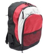 World Traveler Evolution 15.6'' Laptop Backpack; Red/Gray