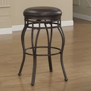 American Woodcrafters Villa 26'' Swivel Bar Stool with Cushion