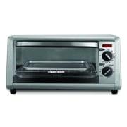 Black & Decker 4-Slice Stainless Steel Toaster Oven