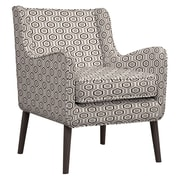 Handy Living Lilian Arm Chair; Grey