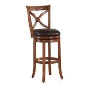 American Woodcrafters Provence 26'' Swivel Bar Stool with Cushion