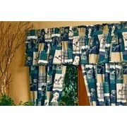 Blue Ridge Trading Dogs and Ducks Cotton Blend Curtain Valance