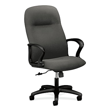 HON Gamut Executive High-Back Desk or Computer Chair, Gray Olefin Fabric