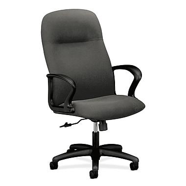 HON – Fauteuil de direction à dossier haut ou fauteuil d'ordinateur Gamut, tissu en oléfine gris