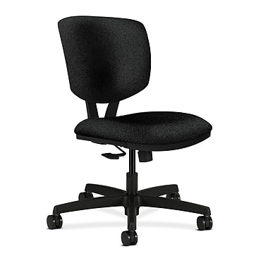 HON Volt Task Chair Synchro-Tilt, Olefin Fabric, Black