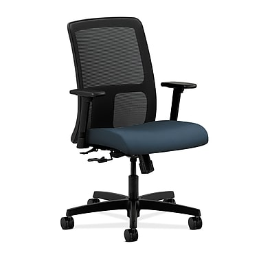 HON Ignition Center-Tilt Low-Back Mesh Task Chair, Cerulean Fabric