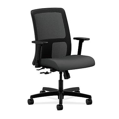HON Ignition Center-Tilt Low-Back Mesh Task Chair, Iron Ore Fabric