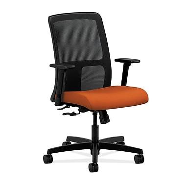 HON Ignition Center-Tilt Low-Back Mesh Task Chair, Tangerine Fabric