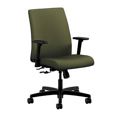 HON Ignition Center-Tilt Low-Back Task Chair, Olivine Fabric