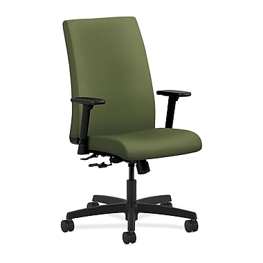 HON Ignition Center-Tilt with Adjustable Arms Mid-Back Task Chair, Clover Fabric