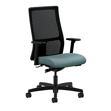 HON Ignition Synchro-Tilt with Adjustable Arms Mid-Back Mesh Task Chair, Surf Fabric