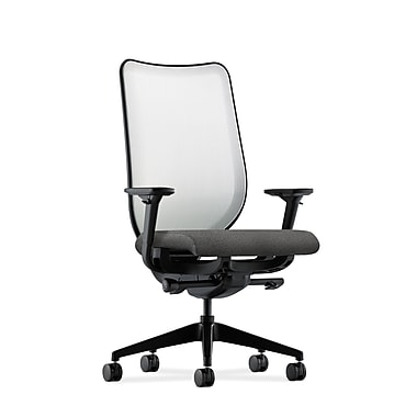 HON Nucleus Synchro-Tilt Knit Mesh Back Task Chair,Gray Fabric