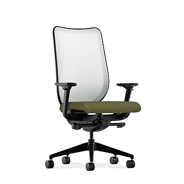 HON Nucleus Synchro-Tilt Knit Mesh Back Task Chair,Olivine Fabric