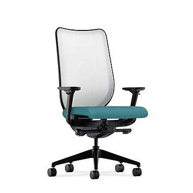 HON Nucleus Synchro-Tilt Knit Mesh Back Task Chair,Glacier Fabric