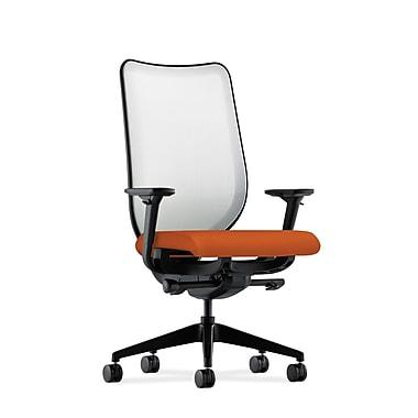 HON Nucleus Synchro-Tilt Knit Mesh Back Task Chair,Tangerine Fabric