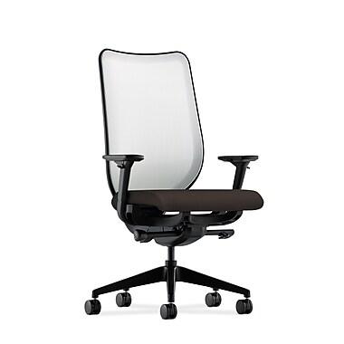 HON Nucleus Synchro-Tilt Knit Mesh Back Task Chair,Espresso Fabric