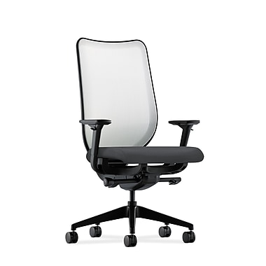 HON Nucleus Synchro-Tilt Knit Mesh Back Task Chair,Onyx Fabric