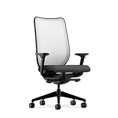 HON Nucleus Synchro-Tilt Knit Mesh Back Task Chair,Charcoal Fabric
