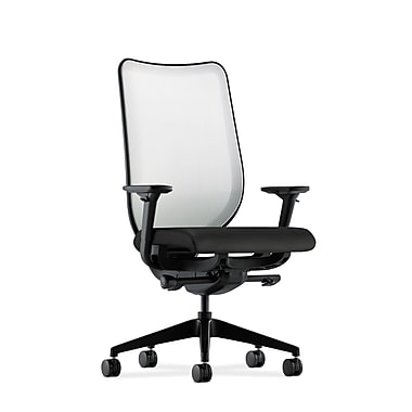 HON Nucleus Synchro-Tilt Knit Mesh Back Task Chair,Black Polyurethane