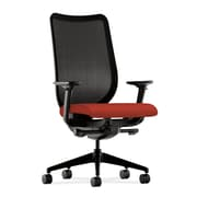 HON® HONN103NR60 Nucleus® Fabric Mesh Back Office Chair with Adjustable Arms, Mulberry