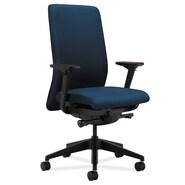 HON Back Task Polyester Fabric Chair, Regatta