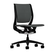 HON Armless Mid-Back Task Chair, Iron Ore