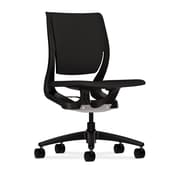 HON® HONRW103ONCU10 Purpose® Fabric Mid-Back Chair, Black/Onyx
