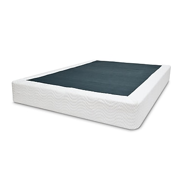 Signature Sleep Premium Ultra Steel Mattress Foundation, King, White