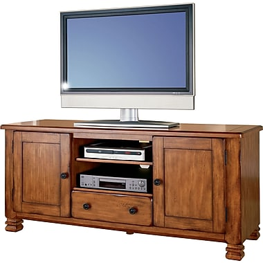Dorel Summit Mountain TV Stand, Rustic Brown