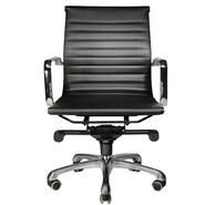 Wobi Office Robin Low-Back Chair; Black