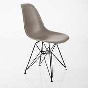 American Atelier Living Banks Side Chair; Dark Gray