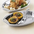 Mariposa String of Pearls Medium Deep Dish Serving Tray