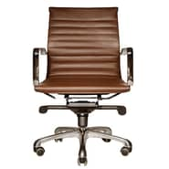 Wobi Office Robin Low-Back Chair; Brown