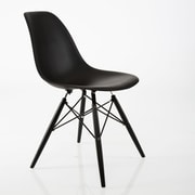 American Atelier Living Banks Side Chair; Black