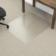Dimex Fold-N-Go Low Pile Carpet Edge Straight Chair Mat; 0.11'' H x 46.5'' W x 60.5'' D