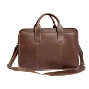 Canyon Outback Leather Buffalo Valley Leather Briefcase; Brown