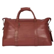 Canyon Outback Leather Falls Canyon 22'' Travel Duffel; Brick Red