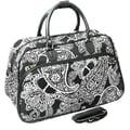 All-Seasons 21'' Carry-On Duffel; White