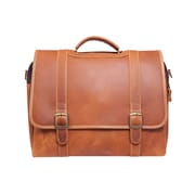 Canyon Outback Leather Old Fort Leather Laptop Briefcase; Tan