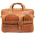 Canyon Outback Leather Casa Grande Leather Computer Bag; Tan
